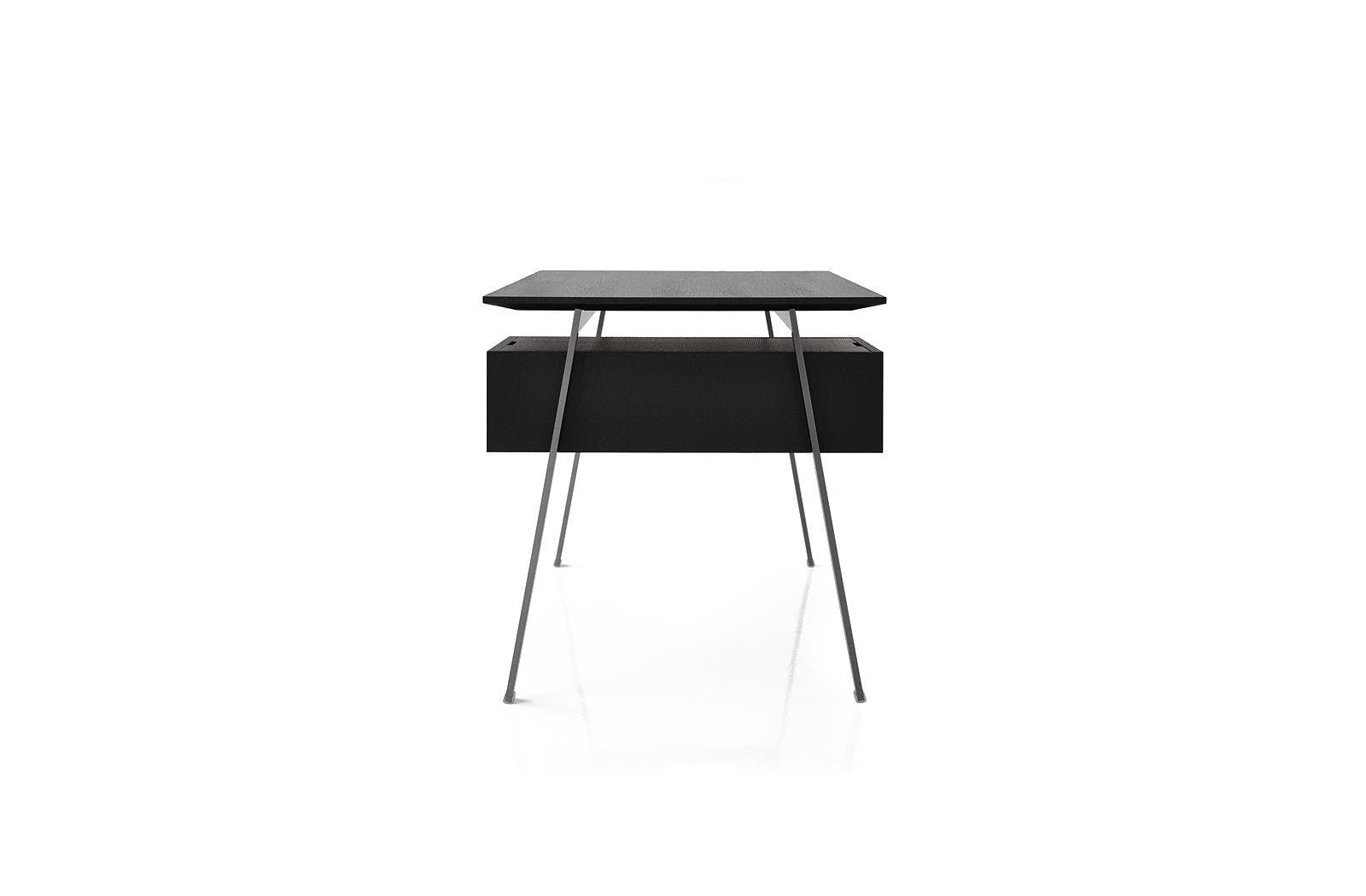 Bensen Black Homework Desk Side