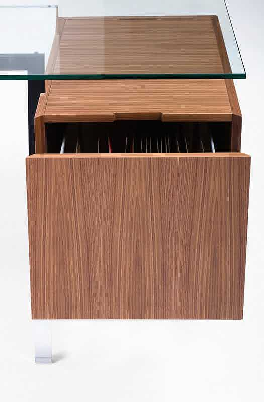 Bensen Brown File Drawer Homework Desk