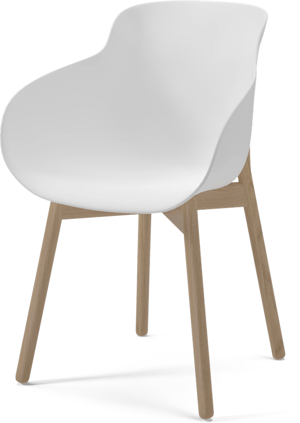 bolia white hug chair haute living
