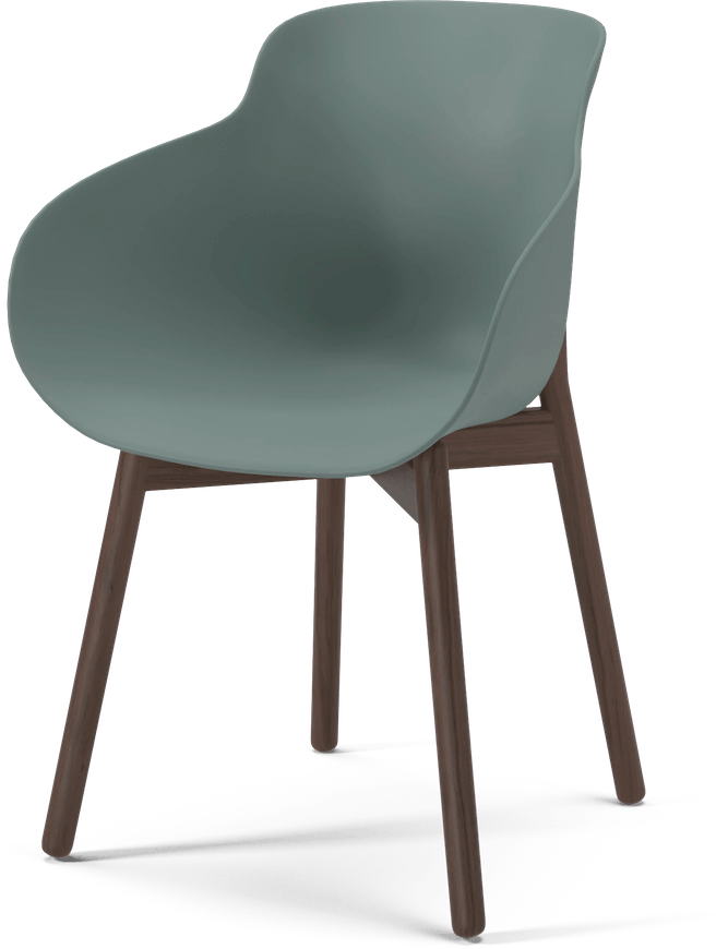 bolia green hug dining chair haute living