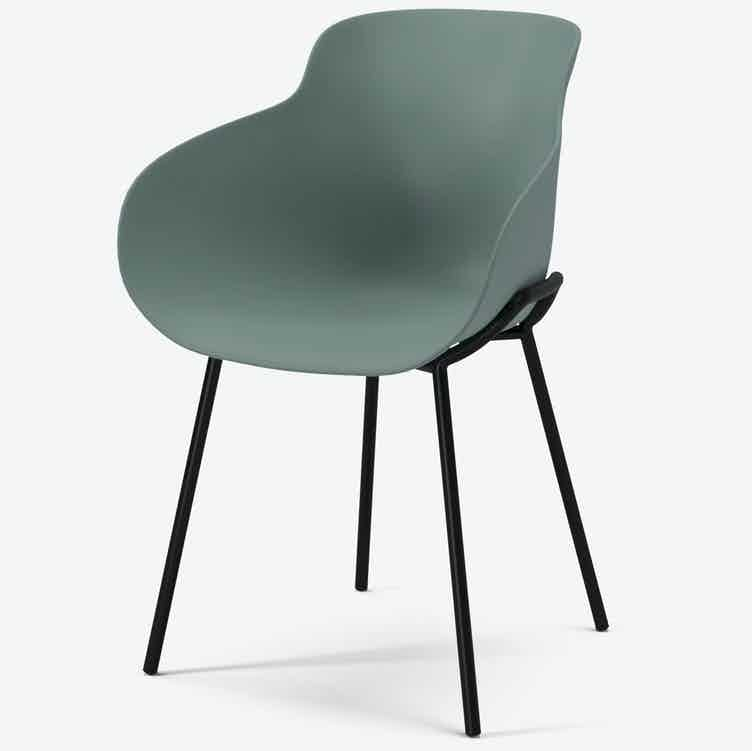 Bolia hug dining chair haute living