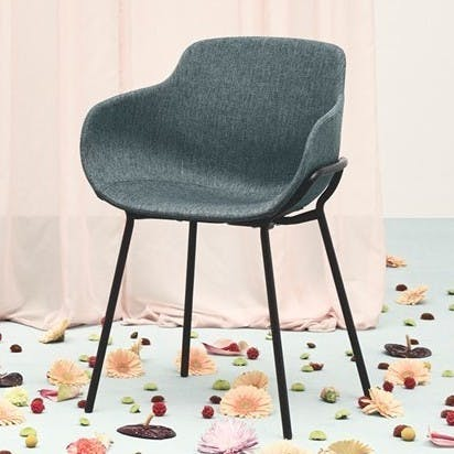 Bolia Hug Dining Chair Insitu Trio Haute Living
