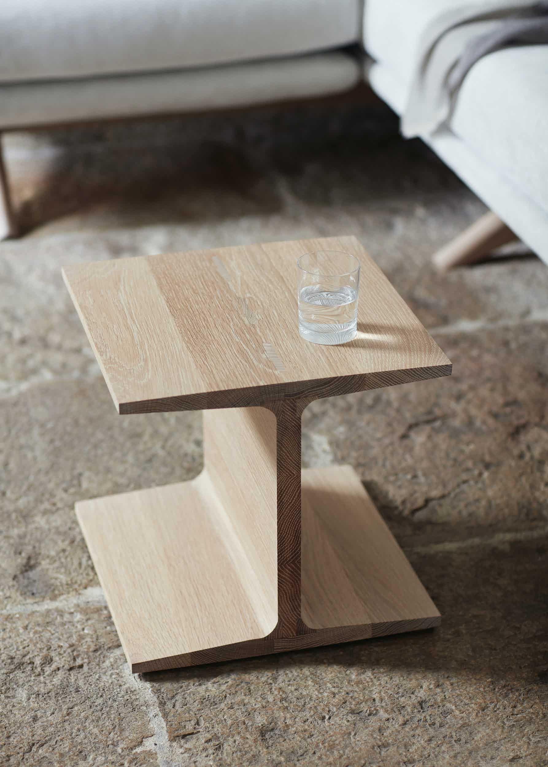 De La Espada Matthew Hilton I Beam Side Table Insitu 2 Haute Living