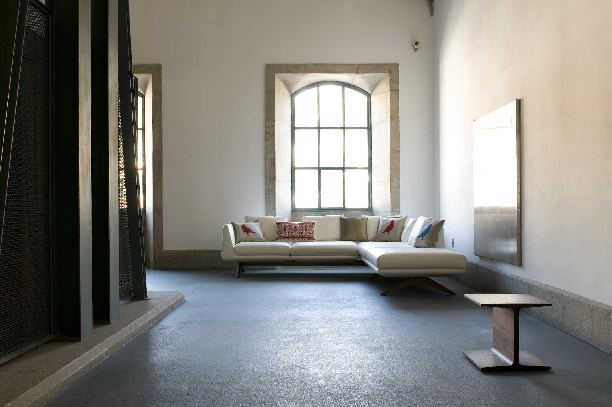 De La Espada Matthew Hilton I Beam Side Table Insitu Haute Living