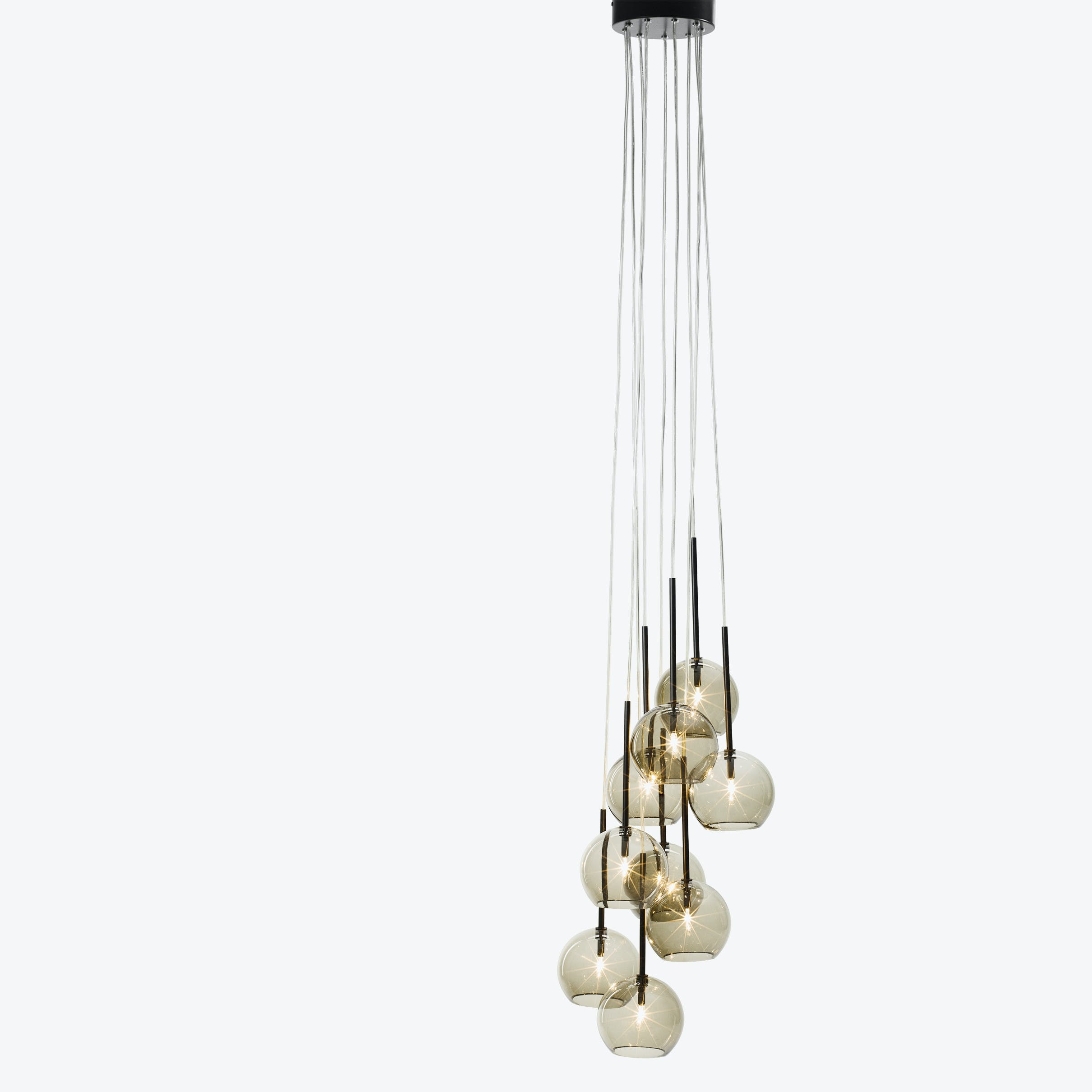 Ice Chandelier9 Gold