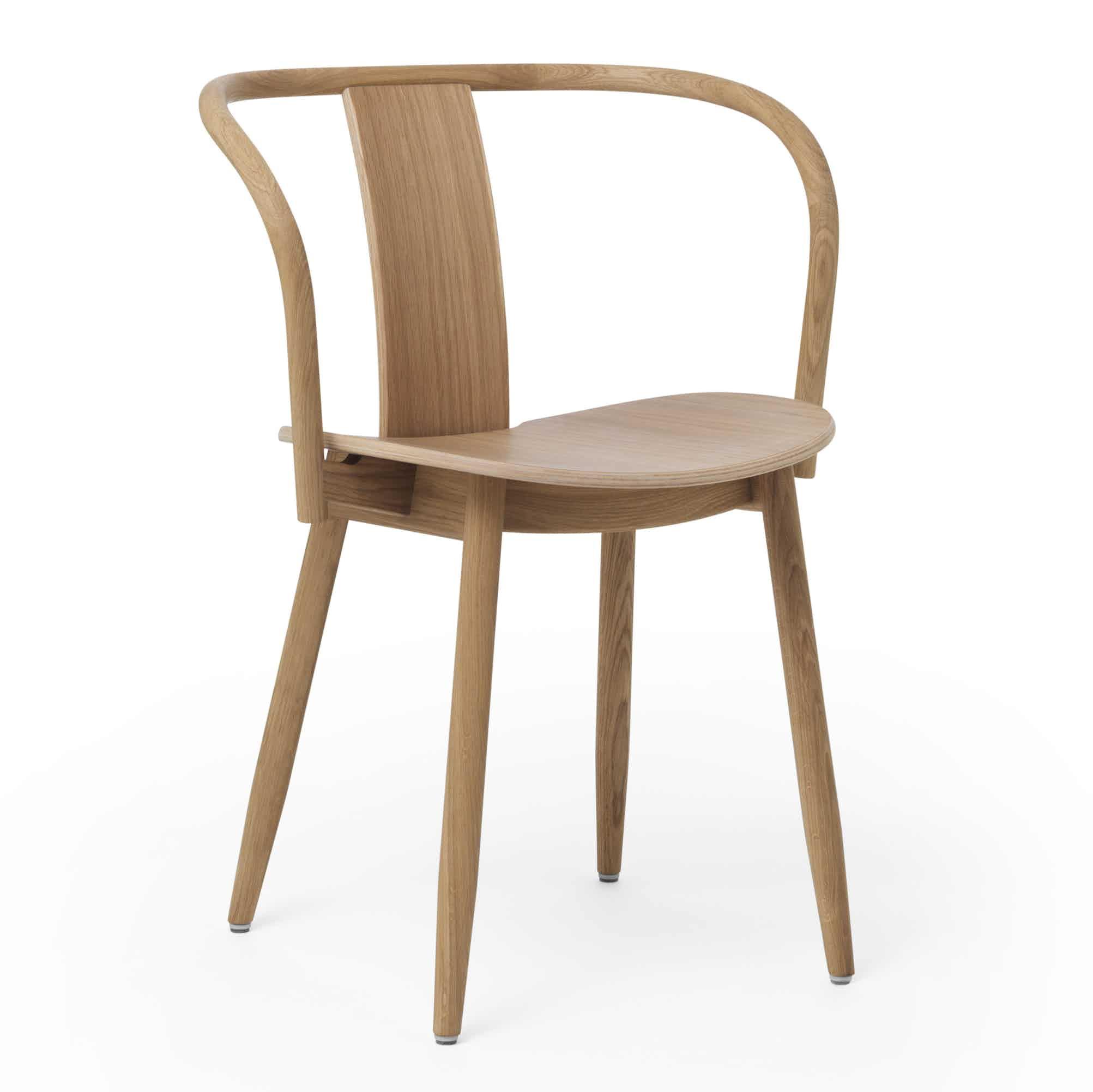 Massproductions Icha Chair Brown Angle Haute Living