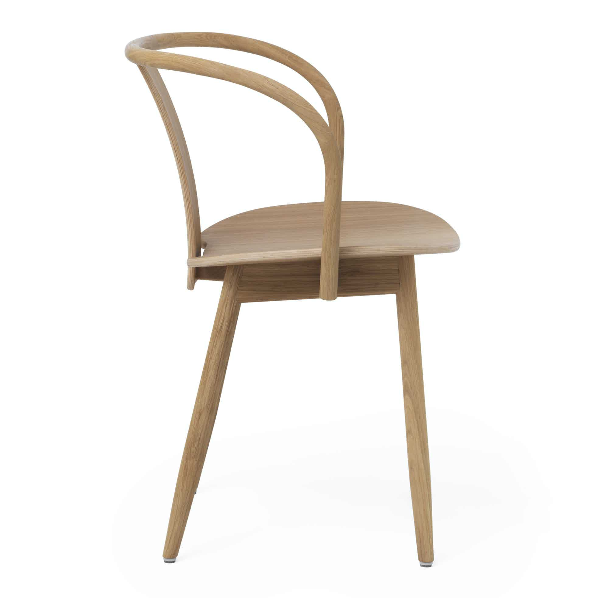 Massproductions Icha Chair Brown Side Haute Living