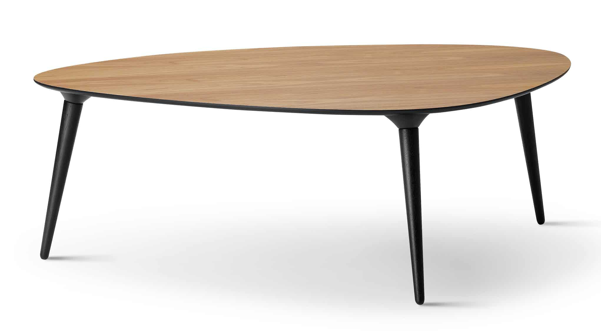 Fredericia Furniture Icicle Table Walnut Large Haute Living
