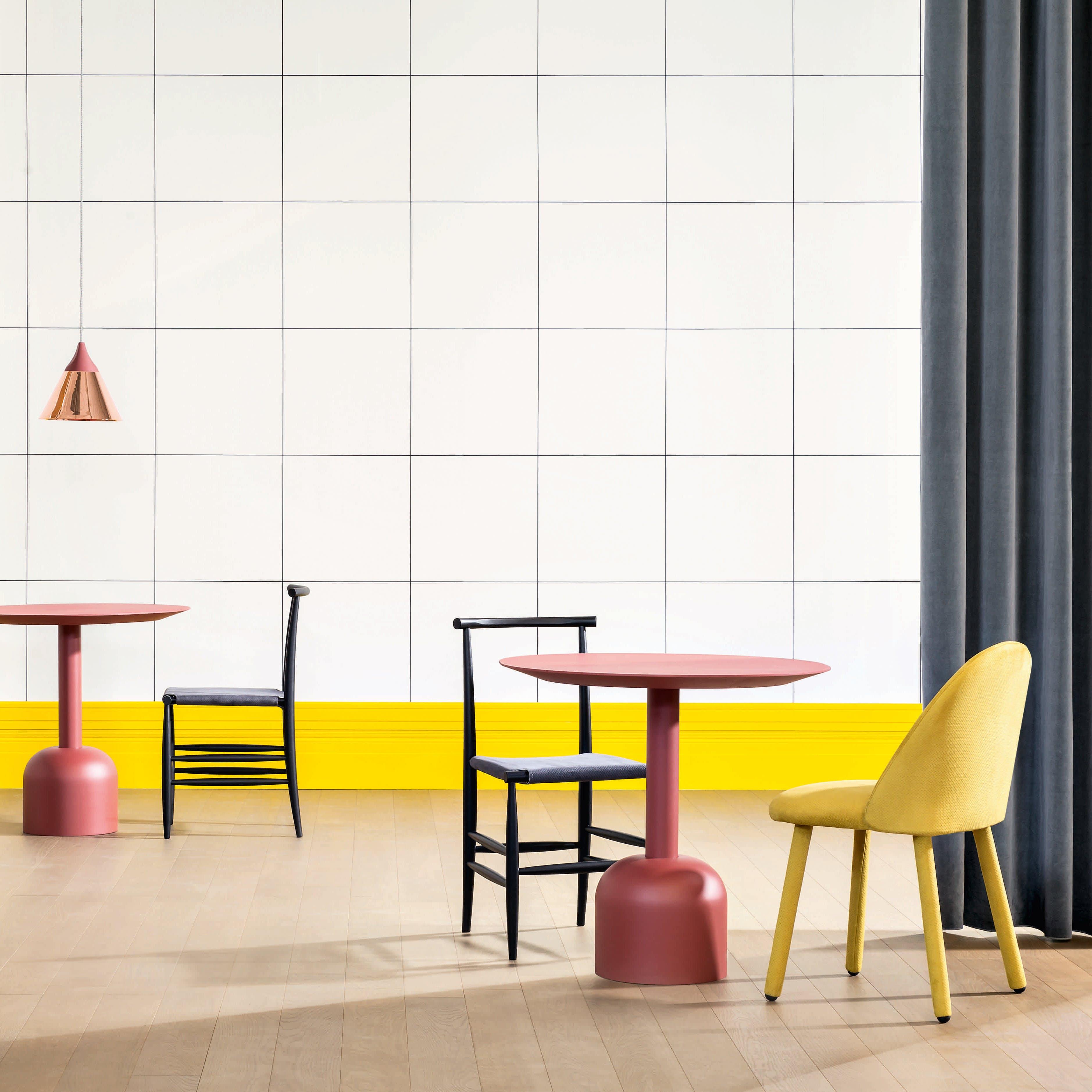 Miniforms Illo Table Pink Insitu Haute Living