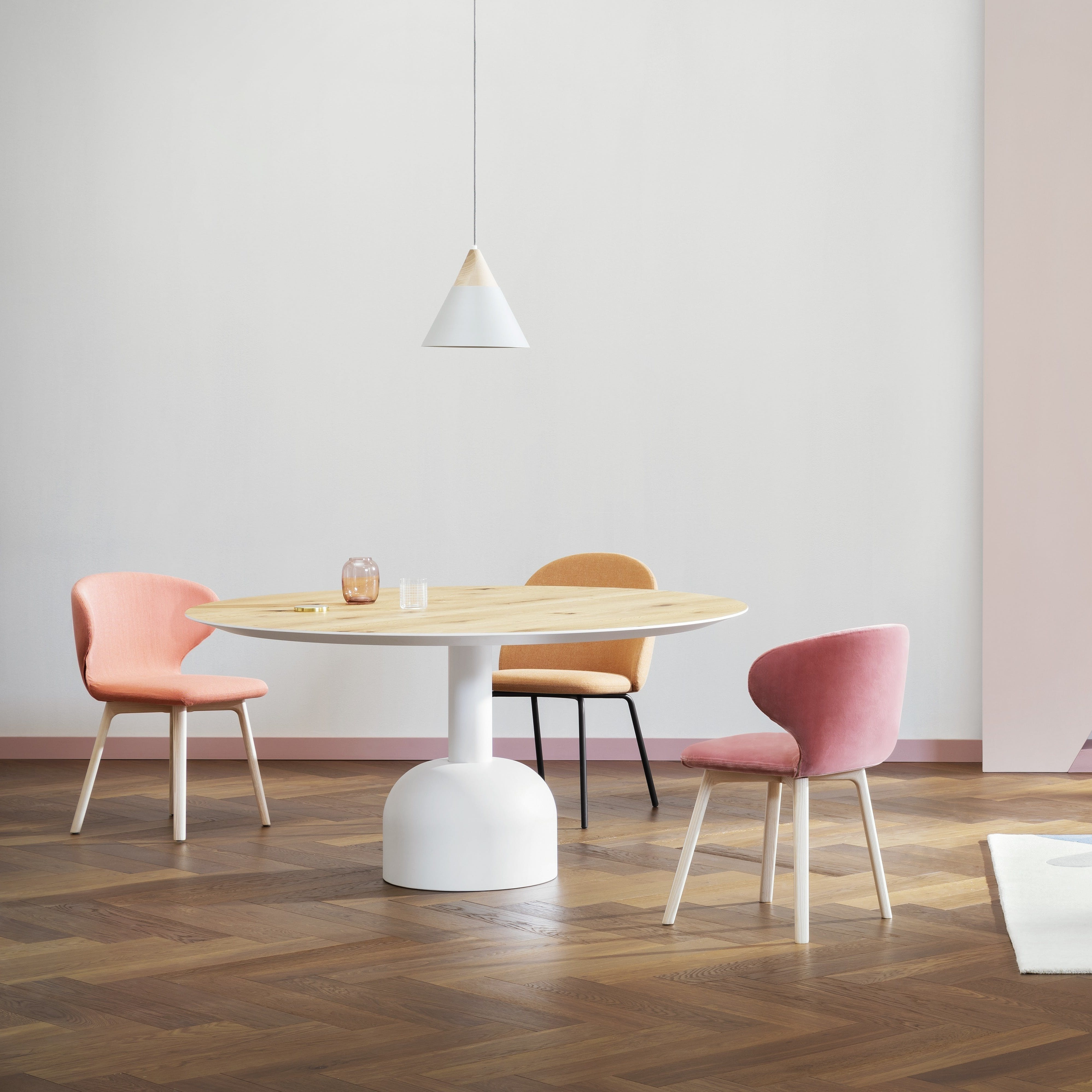 Miniforms Illo Table Yellow Insitu Haute Living