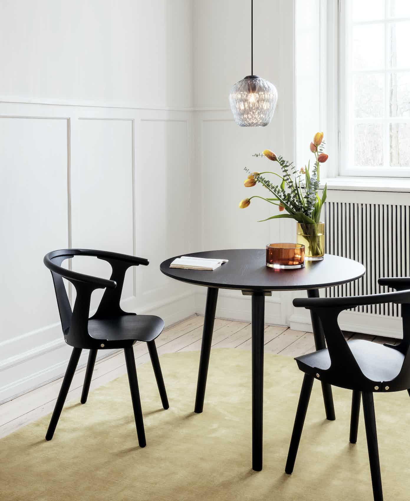 Andtradition Inbetween Chair Insitu Black Haute Living