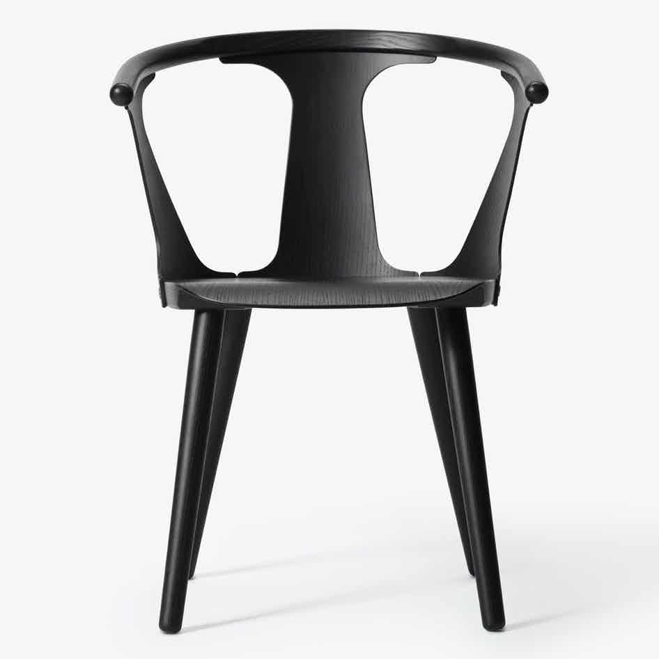 Andtradition Inbetween Chair Sk1 Black Haute Living