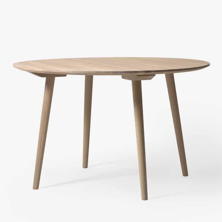 In Between Table Sk4 White Olied Oak