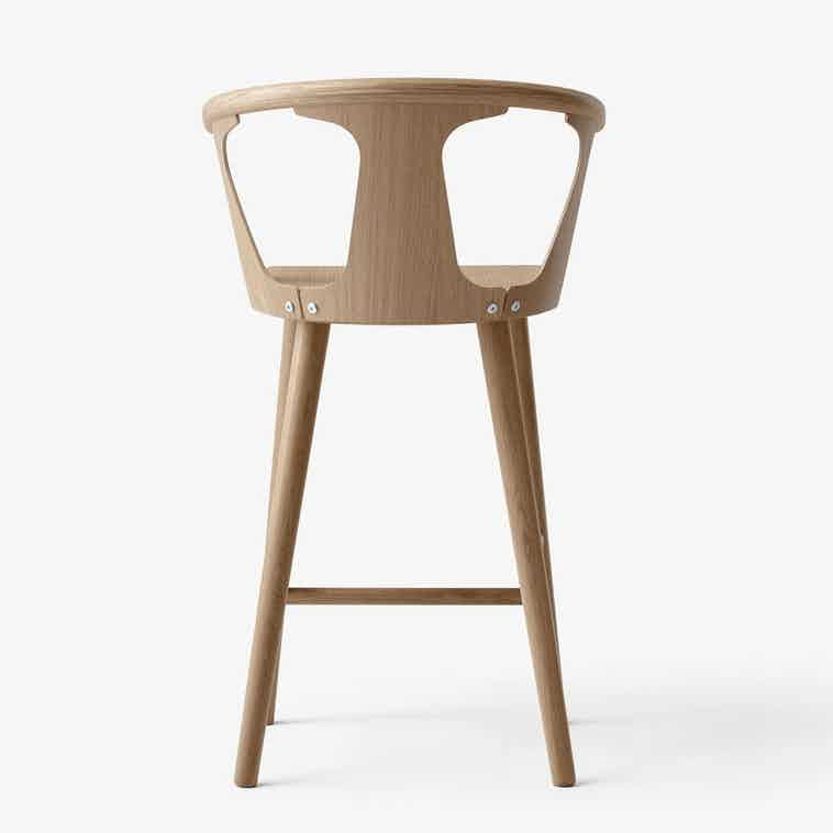 Tradition In Between Stool White Back Haute Living