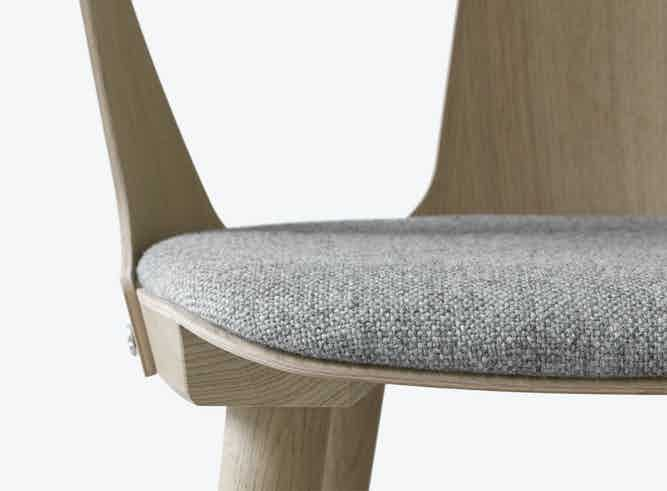 Tradition In Between Upholstered Stool Detail Haute Living
