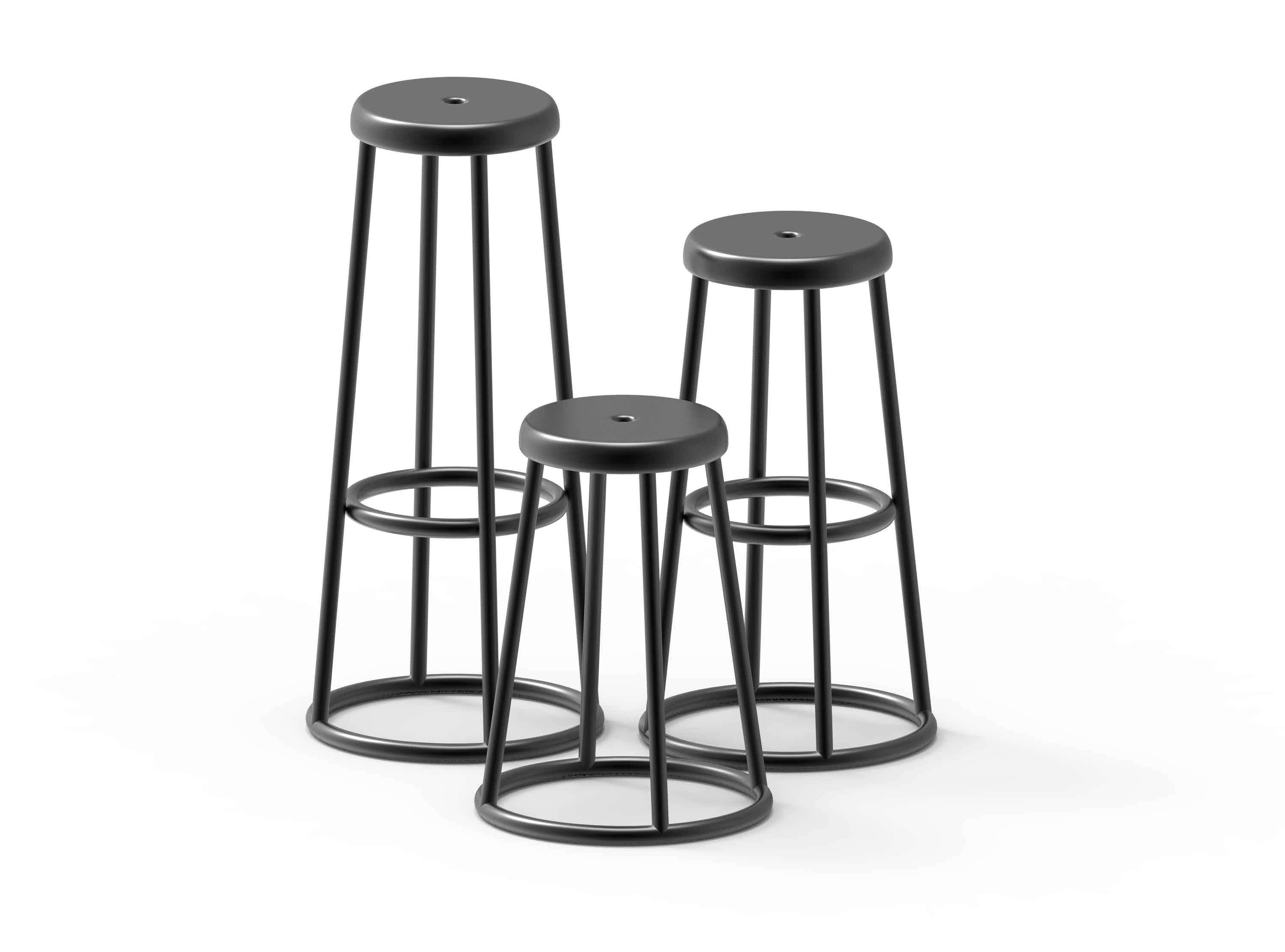 Still Industrial Stool Barstool
