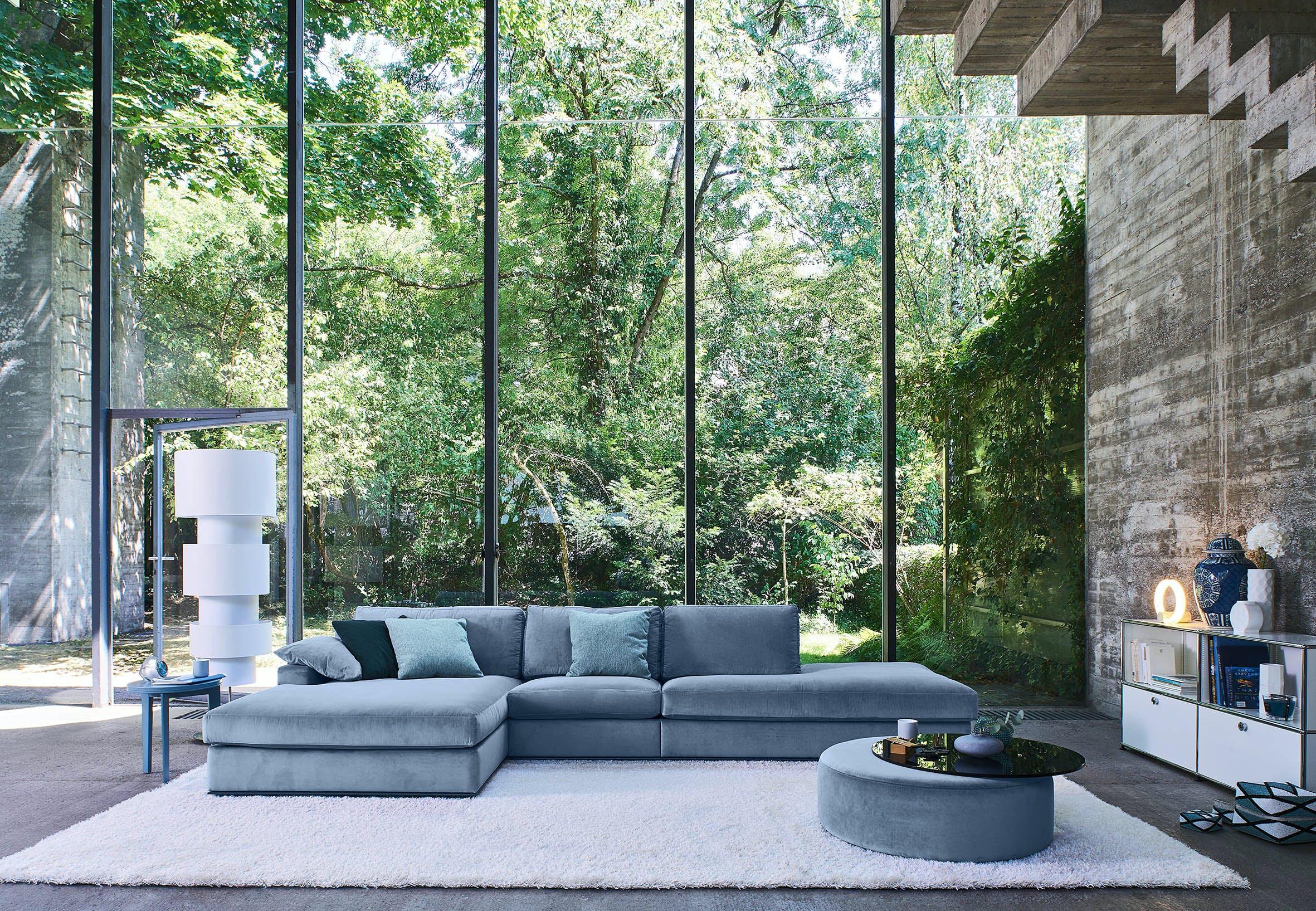 Jab Anstoetz Blue Inspiration Modular Sofa Insitu Haute Living