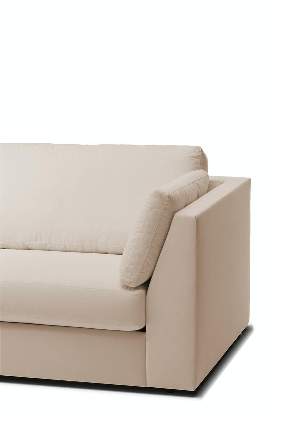 Jab Anstoetz Inspiration Modular Sofa Slope Arm Detail Haute Living