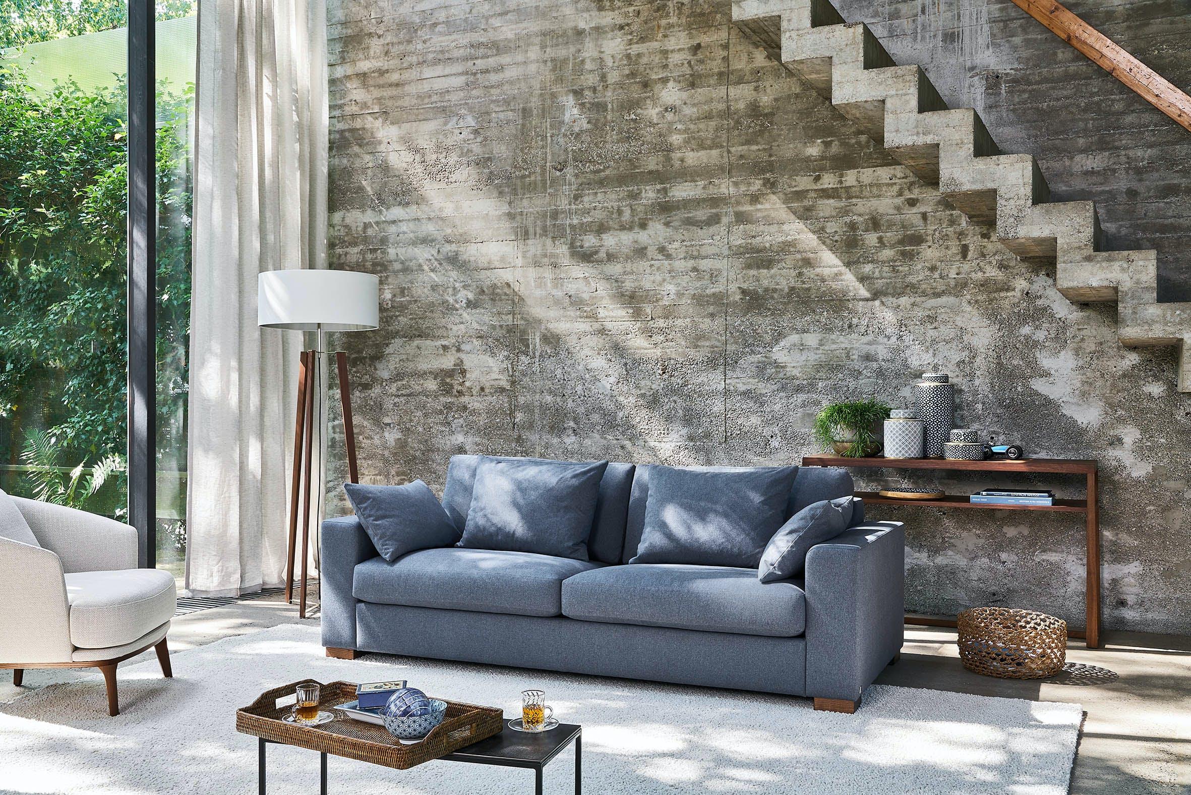 Jab Anstoetz Blue Inspiration Sofa Insitu Haute Living