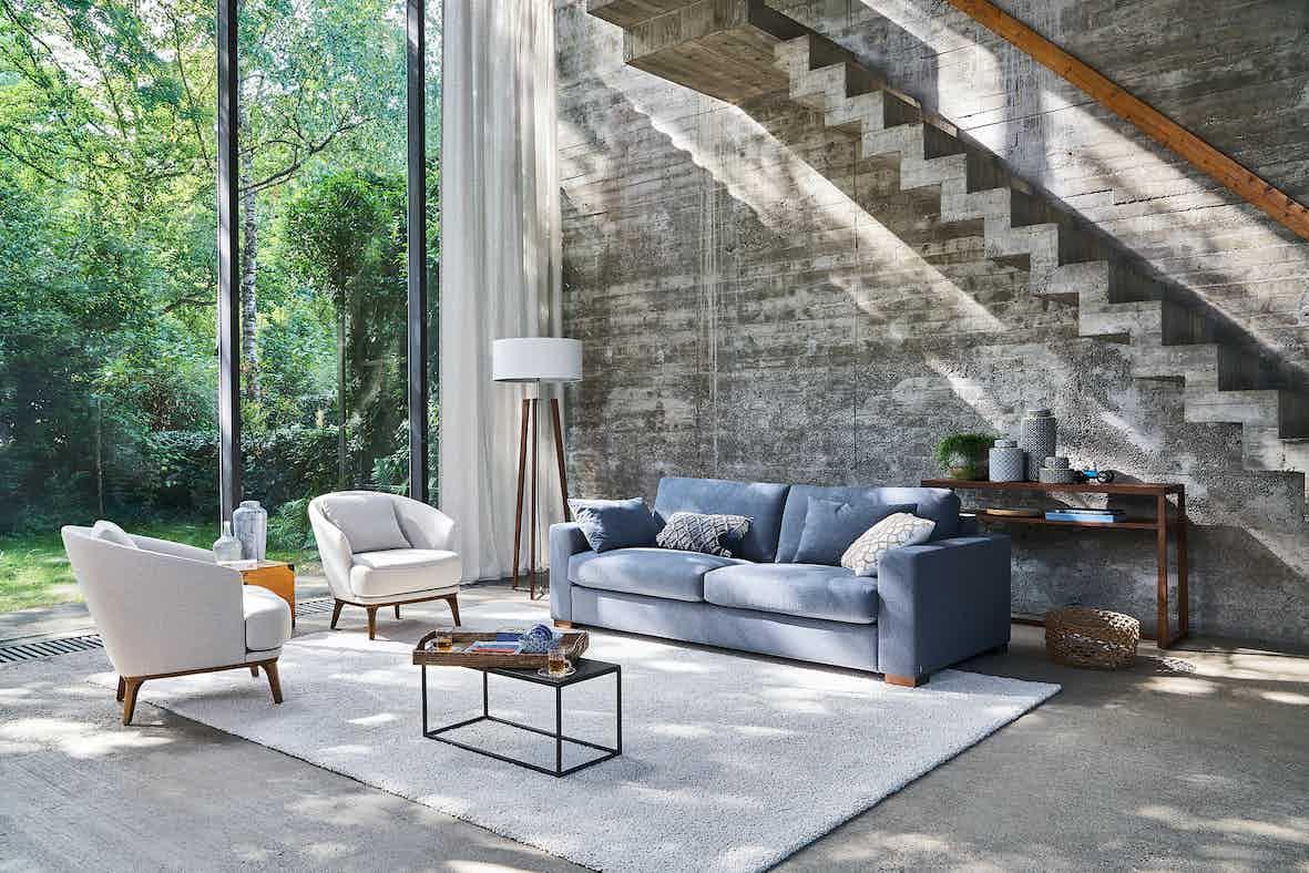 Jab Anstoetz Light Blue Inspiration Sofa Insitu Haute Living