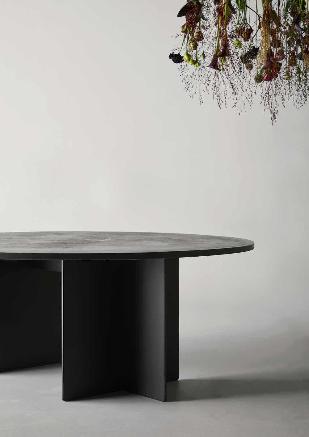 Eberhart furniture ivo table detail haute living