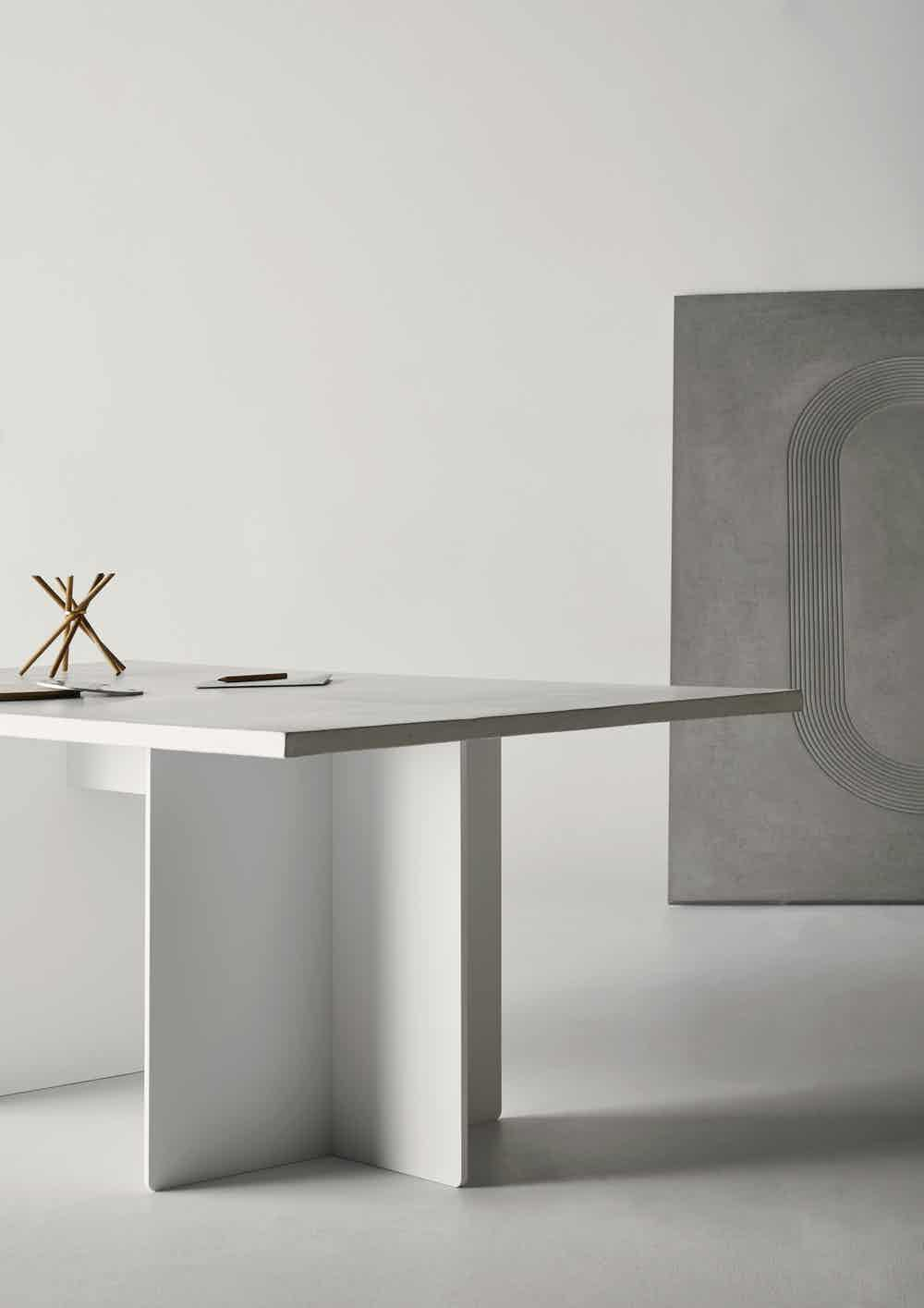 Eberhart furniture ivo table square detail haute living