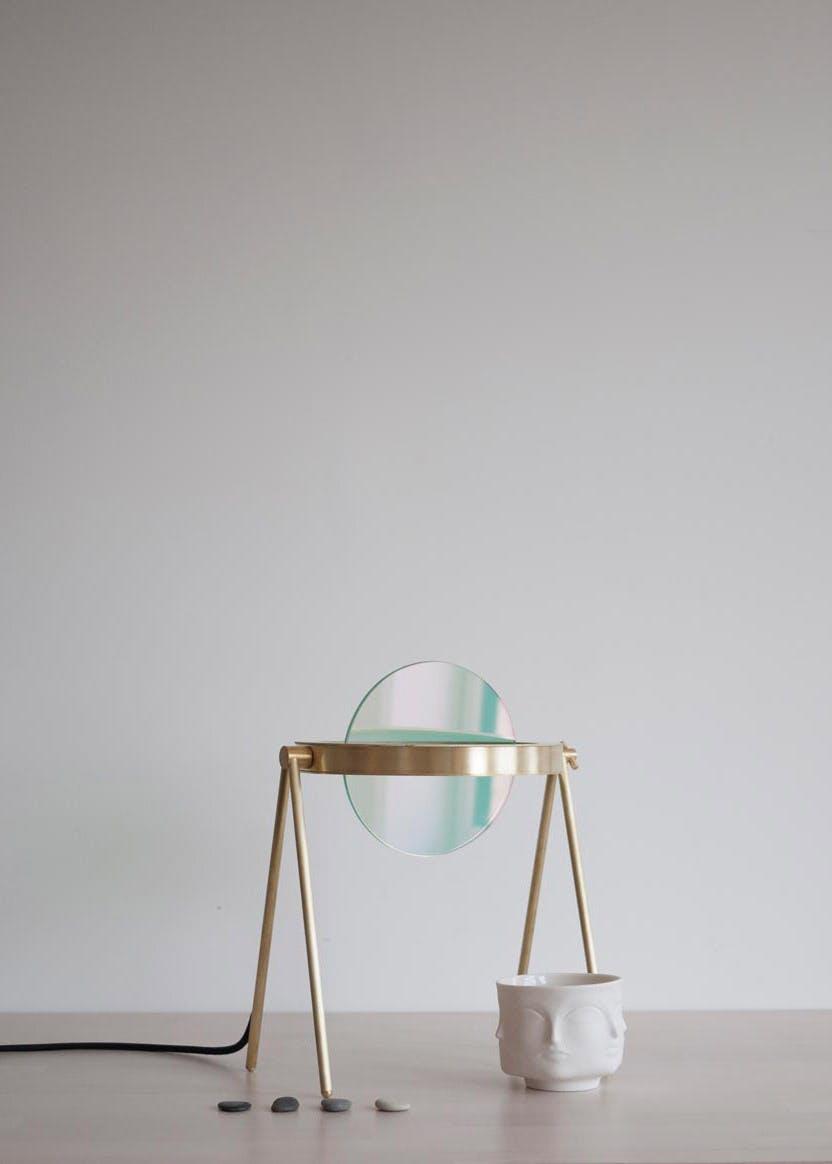 Trueing Janus Table Lamp Green
