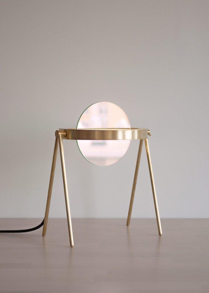 Trueing Janus Table Lamp Pink