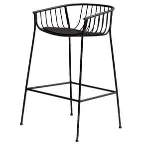 Sp01 design jeanette stool black haute living 2