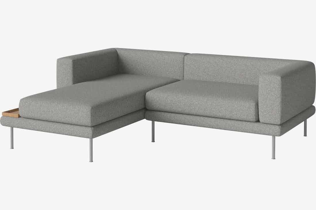 Bolia jerome modular sofa grey haute living