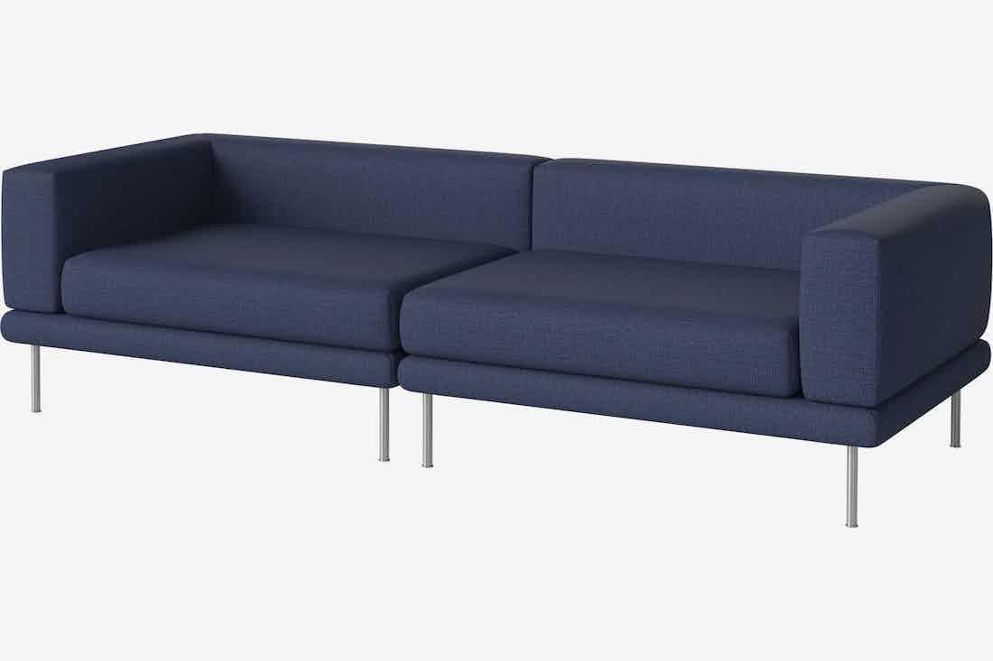 Bolia jerome sofa blue haute living