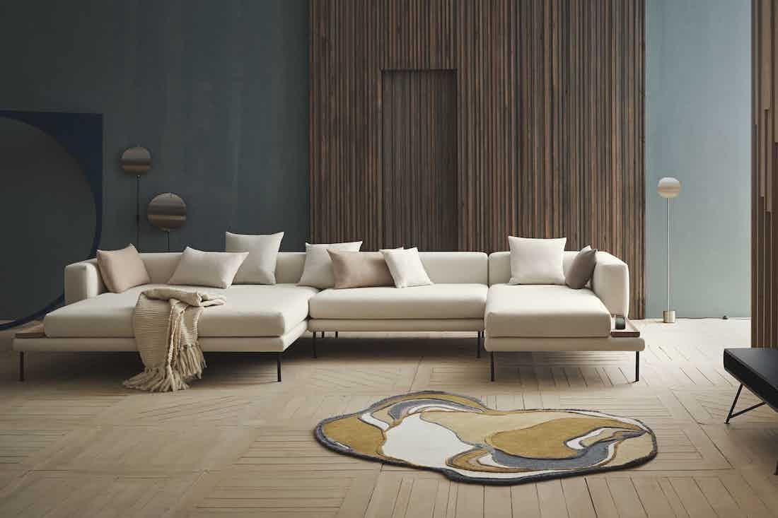 Bolia jerome sofa chaise haute living