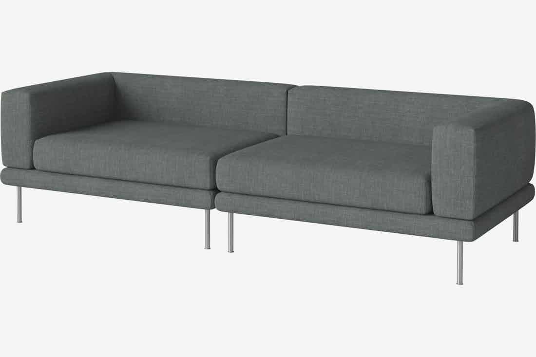 Bolia jerome sofa green haute living