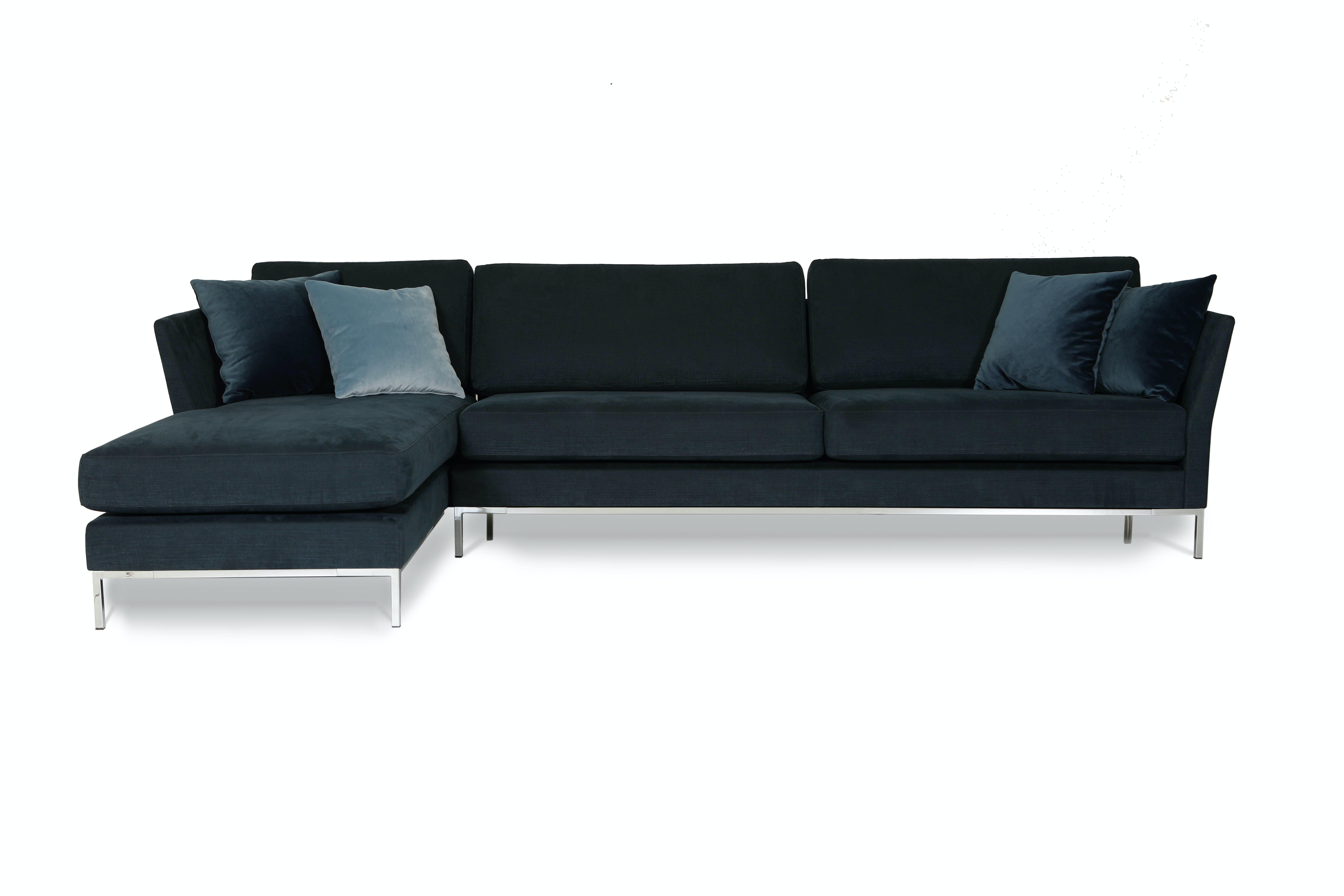 Jab Anstoetz Blue Velvet Jon Edwards Modular Sofa Haute Living