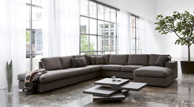 Jab Anstoetz Brown Jon Edwards Modular Sofa Insitu Haute Living