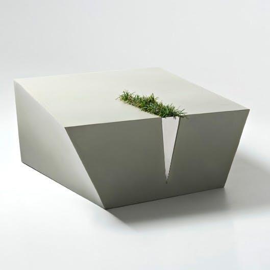 De Castelli Kata Planter Grey Haute Living