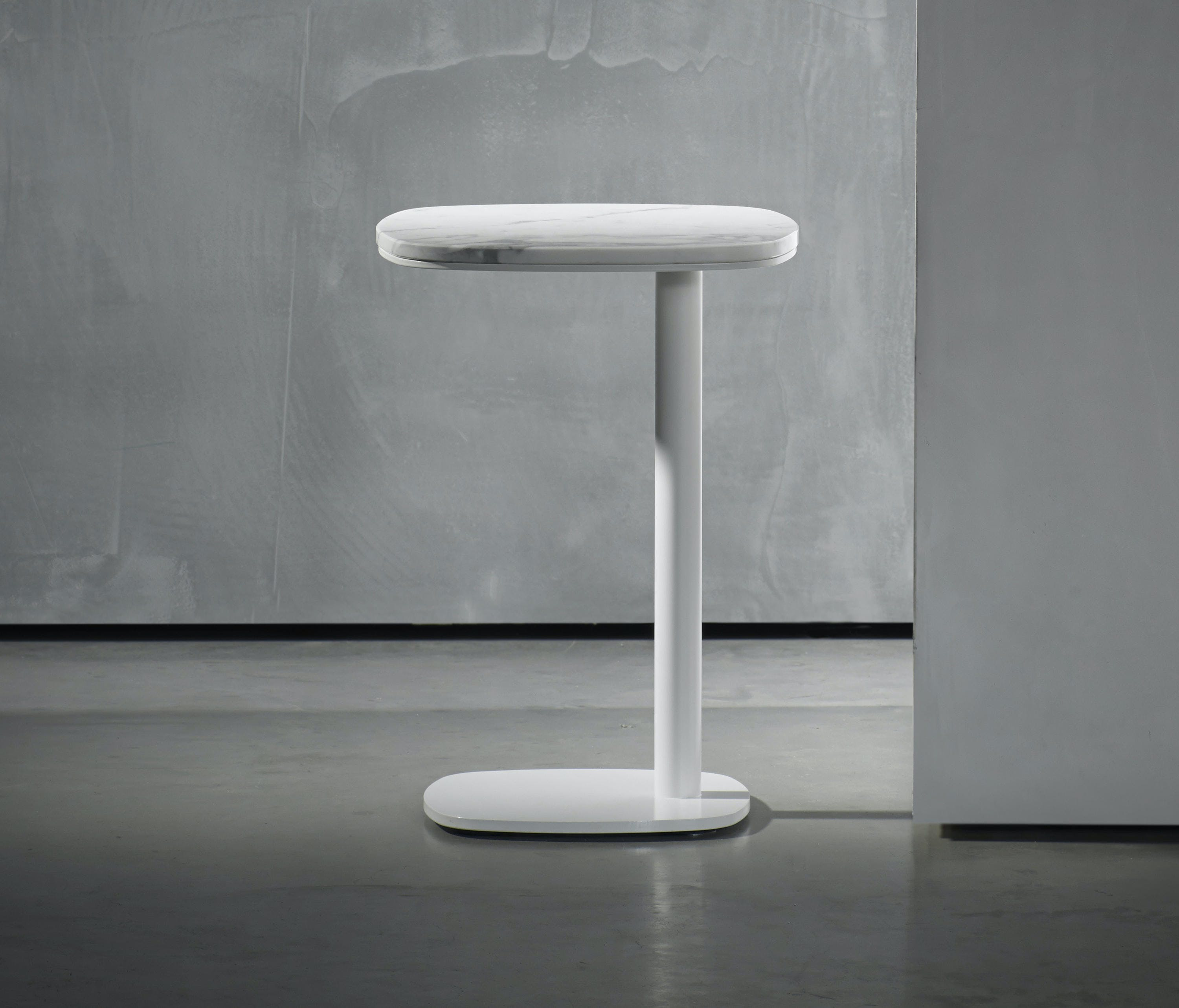 Kek Side Table Marble White 2V 2 01 B
