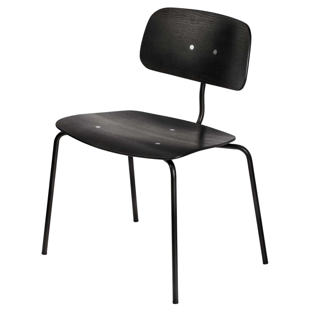 Engelbrechts kevi 2064 chair black angle haute living