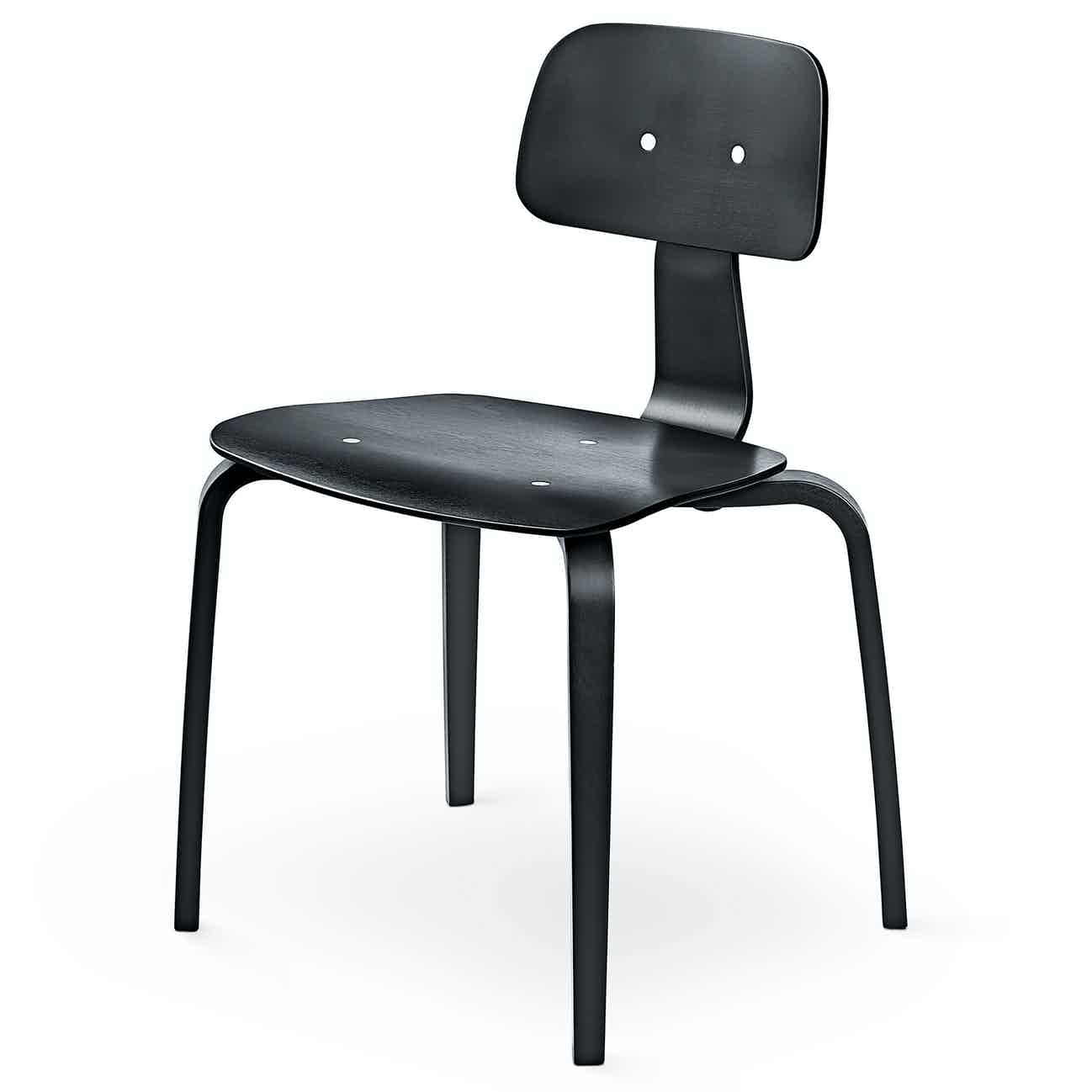 Engelbrechts kevi 2070 chair black angle haute living