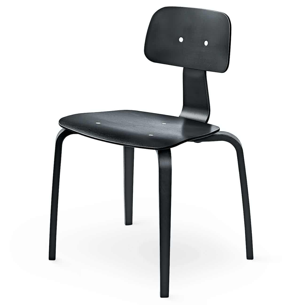 Engelbrechts kevi 2070 chair black angle haute living