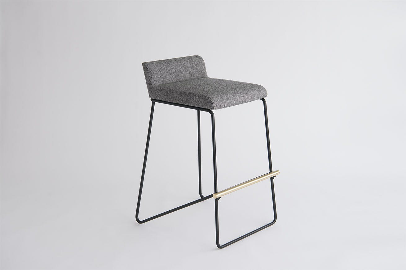 Phase Design Reza Feiz Kickstand Bar Stool 21