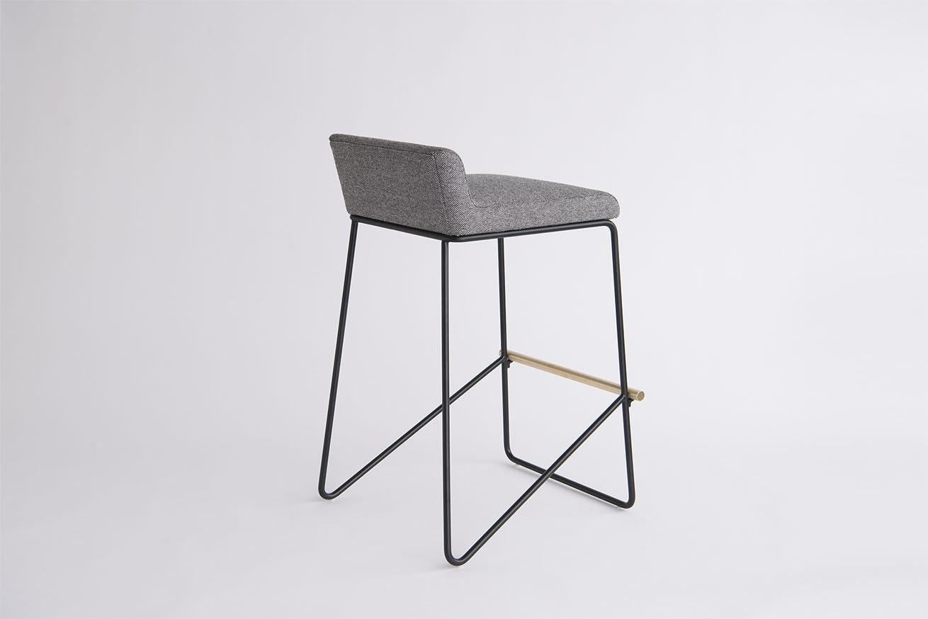 Phase Design Reza Feiz Kickstand Bar Stool 41