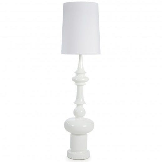 De La Espada Autoban King Lamp White Haute Living