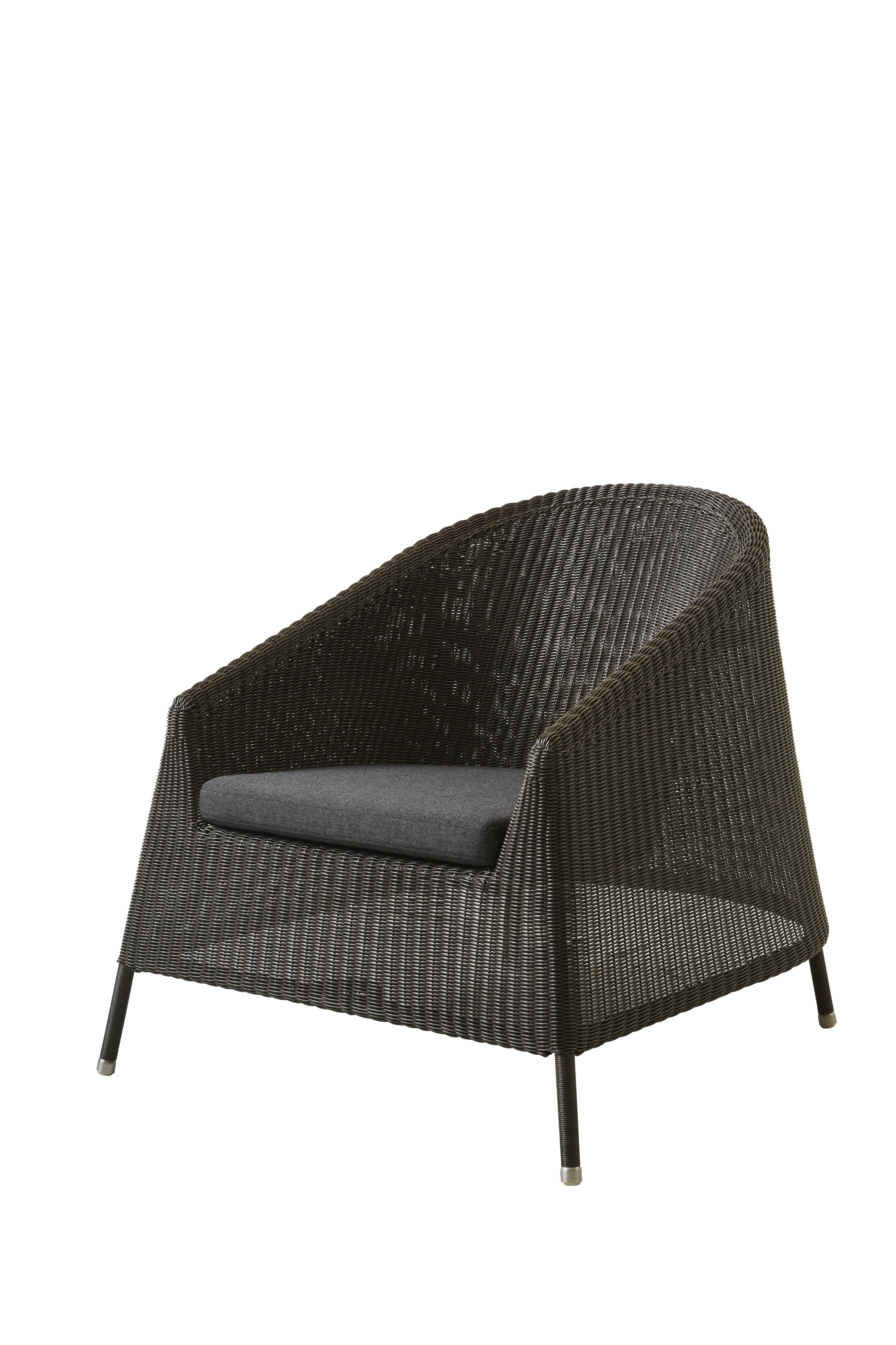 Kingston Lounge Chair Mocca Black Ysn98