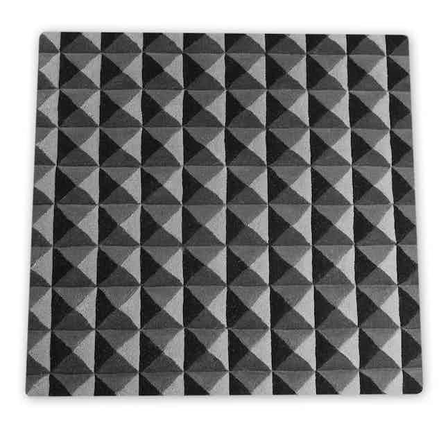 Deadgood-knurled-rug-black-white-square-haute-living