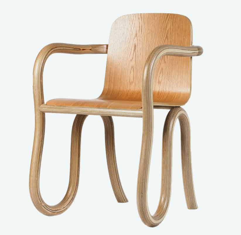 Made by choice kolho dining chair natural oak finish thumbnail