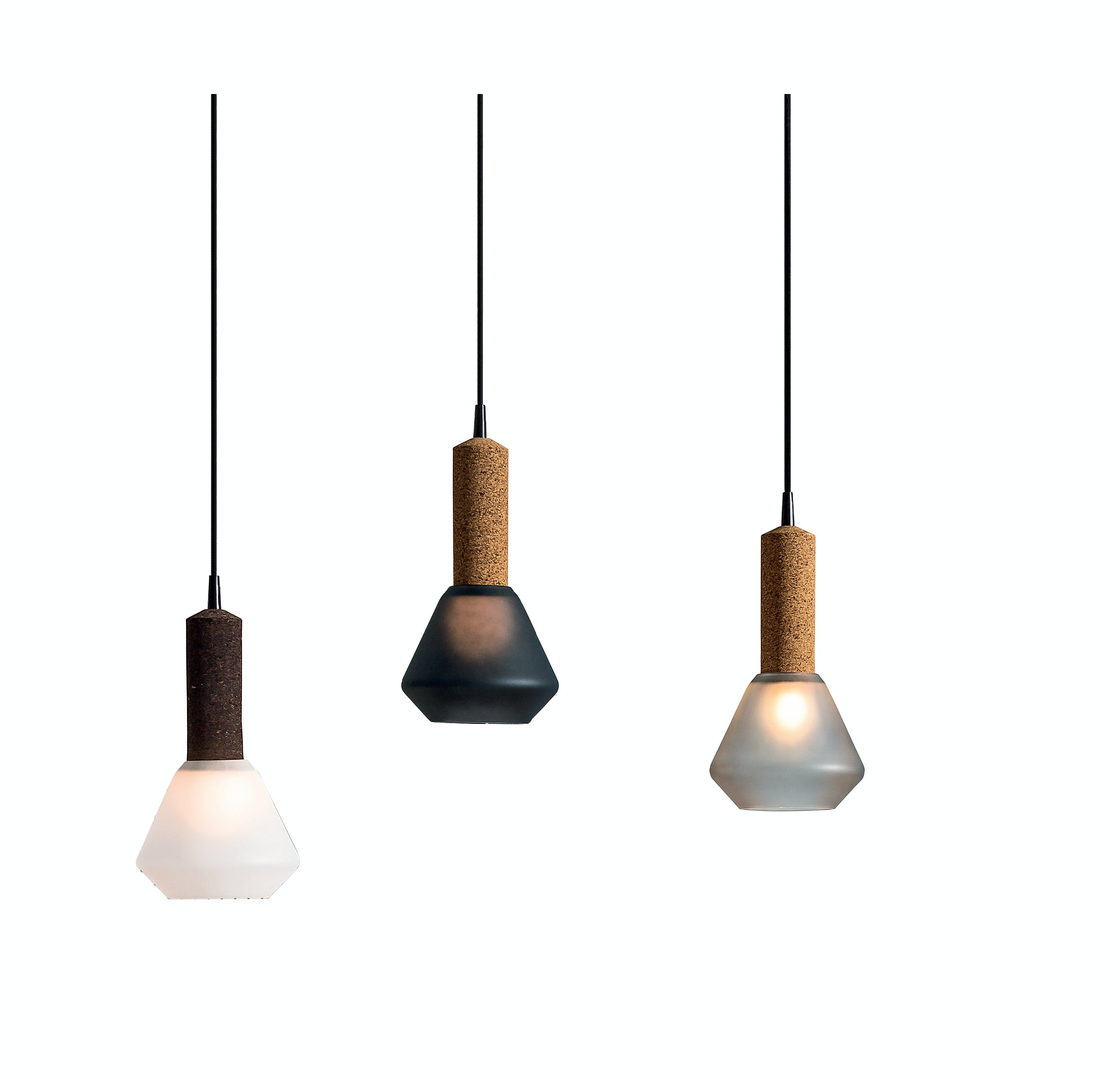 Discipline Korlux Glass Shade Pendants Haute Living