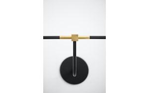 Beaubien Wall Double Shade Lamp by Lambert & Fils Haute Living
