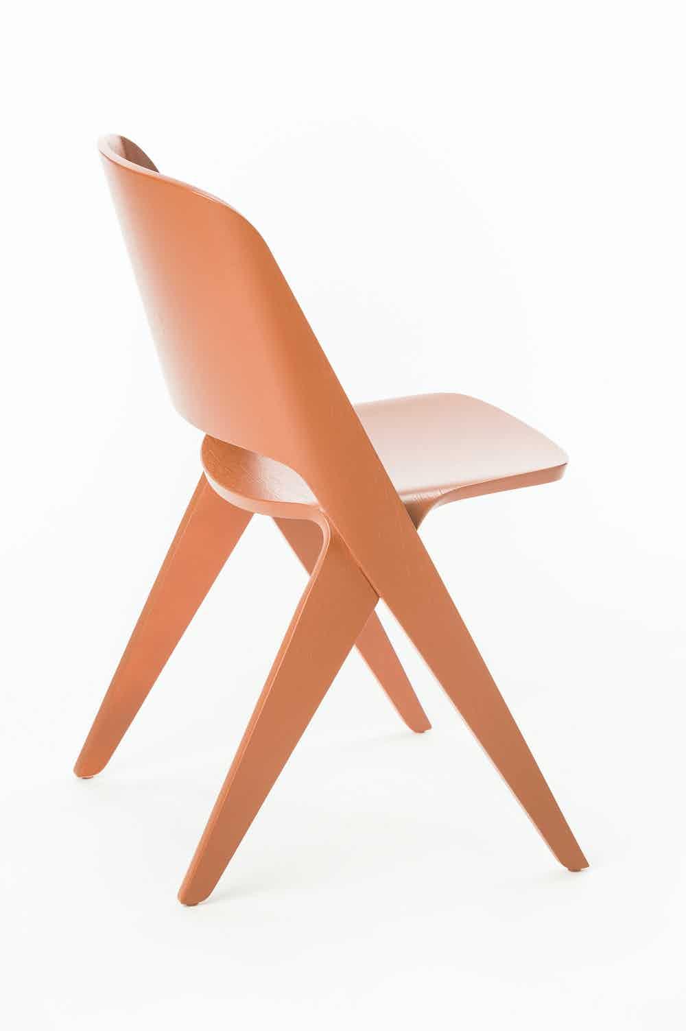 Poiat Copper Orange Lavitta Chair Haute Living
