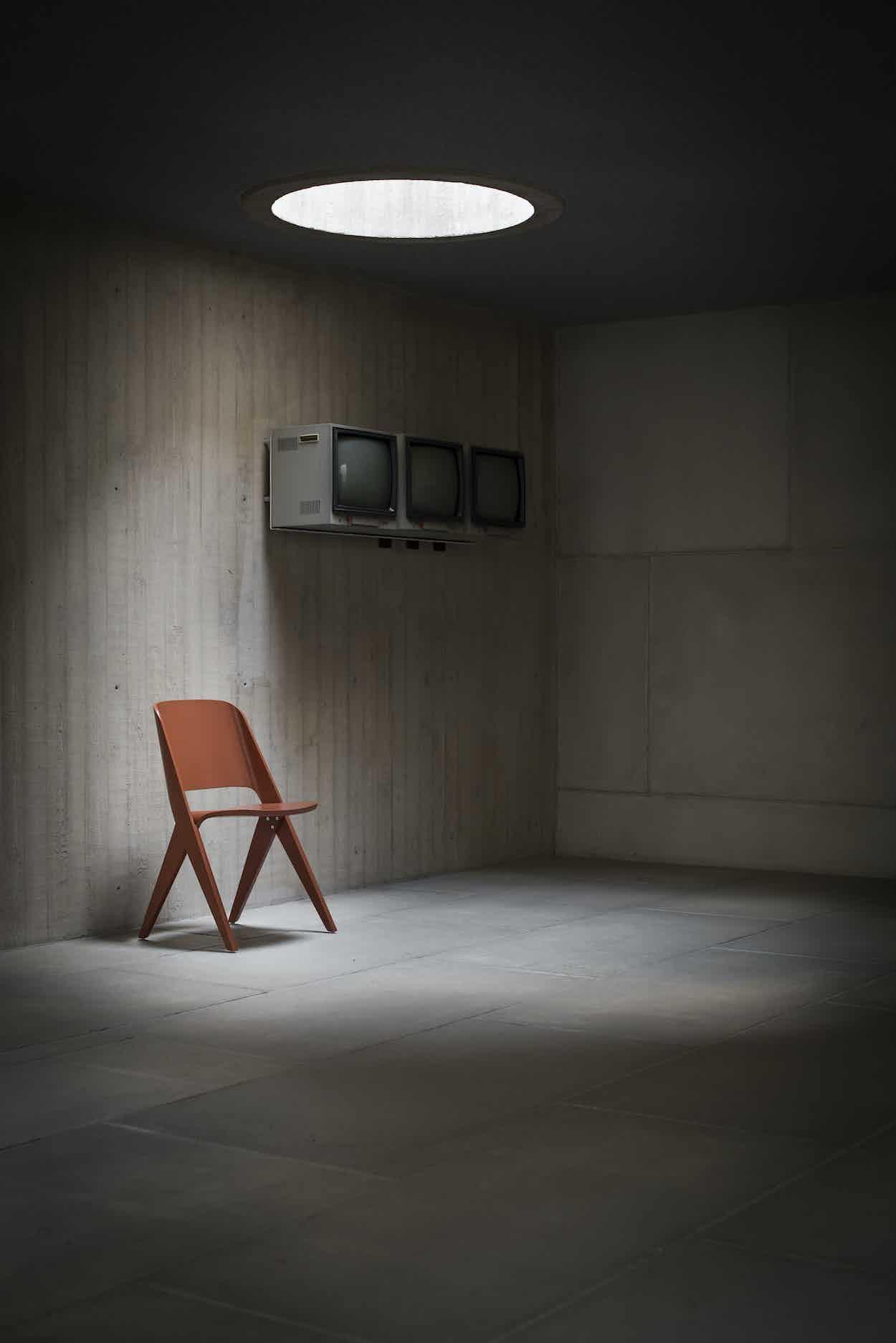 Poiat Copper Orange Lavitta Chair Insitu Haute Living
